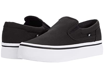 DC Trase Slip-On Platform (Black/White) Women