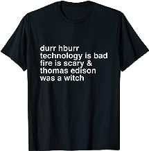 thomas edison was a witch