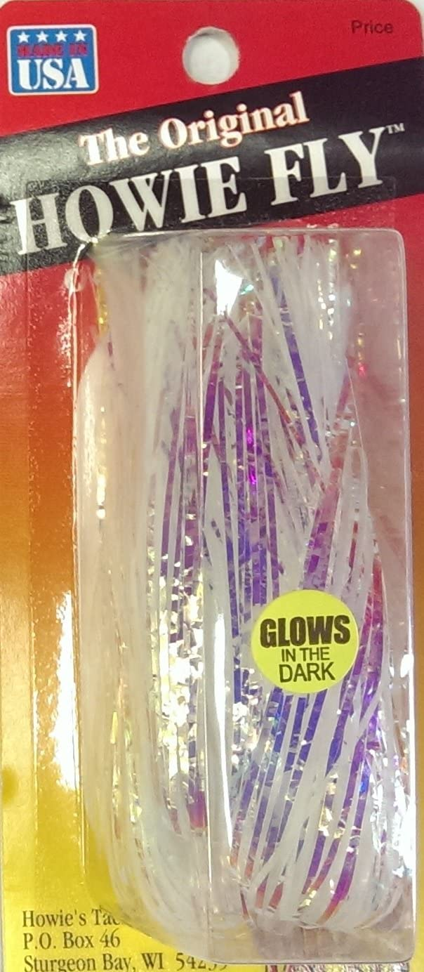 Same day shipping Howie's Fixed price for sale Tackle Glitter Mirage Glow Howie o Lure Fly Fishing Pack