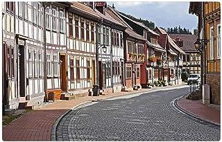 LESGAULEST Doormat Floor Rug/Mat (23.6 x 15.7 inch) - Truss Historically Stolberg Resin Local Transit