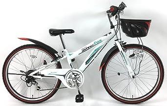 C.Dream(シードリーム) シルバーフォックス SF26-H 22インチ 子供自転車 ホワイト 100%組立済み発送