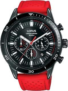 Lorus sport man Mens Analog Quartz Watch with Leather bracelet RT323HX9