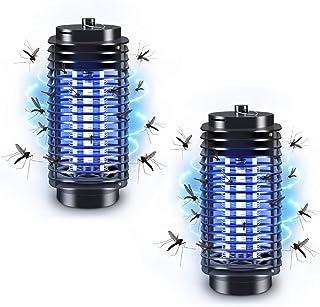 PECHTY Lámpara Mosquito Electrico, Lámpara antimosquitos UV Luz Lampara, Electrico Lámpara Anti Mosquitos para la Cocina la Sala de Estar