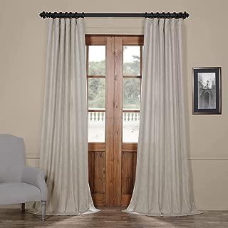 FHLCH-VET13197-96 Heavy Faux Linen Curtain, 50 x 96