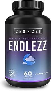 ZEN•ZEI | ENDLEZZ SLEEP - Suplemento para Dormir 100% Natural — Formulado para: Sueño Reparador, Tranquilo y Profundo — Con 6 Ingredientes Para Restaurar Tu Ritmo Circadiano — No Forma Hábito