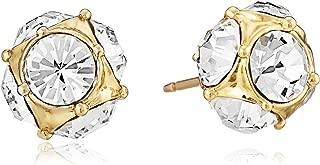 Kate Spade Lady Marmalade Clear/Gold Stud Earrings O0RU1145
