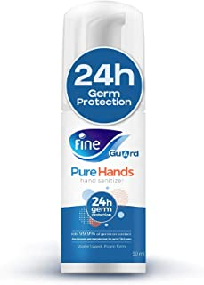 Fine Guard PureHands 24hr Protection, Hand Sanitizer - 50ml