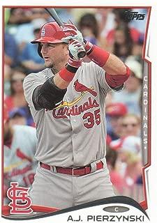 2014 Topps Update Baseball #US-145 A.J. Pierzynski St. Louis Cardinals