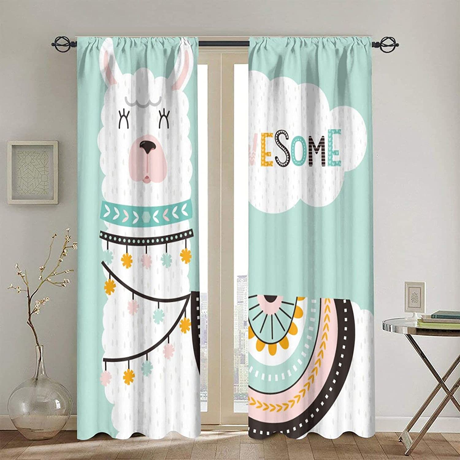 Rod Pocket Blackout Curtains Direct stock discount Thermal Window Curtain Cu Selling and selling Insulated