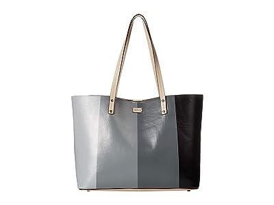 Frances Valentine Trixie Gradient Tote (Gradient Grey) Tote Handbags