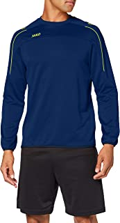 JAKO Träningskläder för män, Classico, nattblå/citro, XXL, 8850