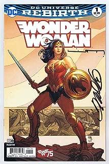 Wonder Woman #1 Near Mint 1st Print Signed w/COA Frank Cho/Liam Sharp 2016 DC Comics