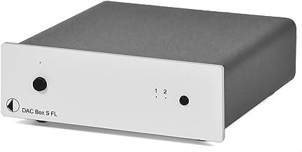 Pro-Ject DAC Box S FL (Silver) Digital to Analog Converter, Silver