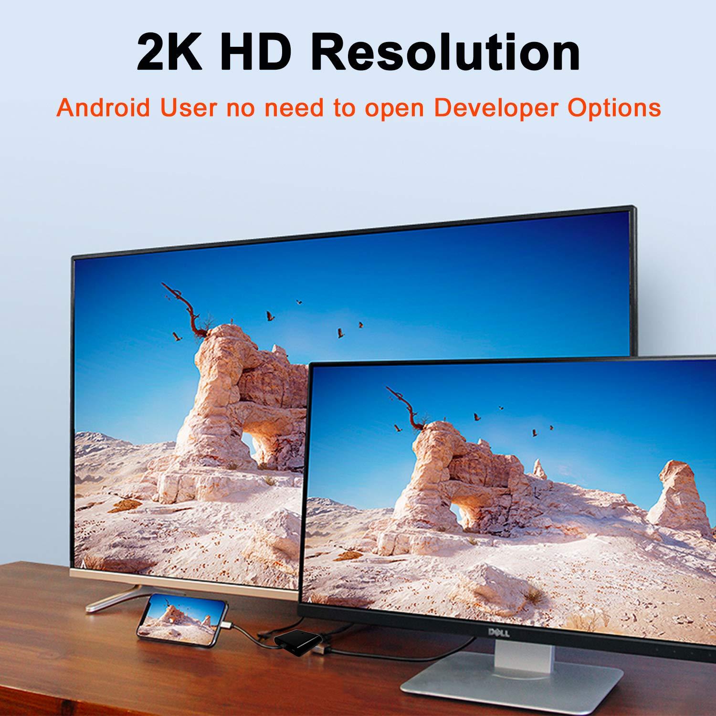 Adaptador de Android a HDMI para TV, Dispositivo Android, USB MHL ...
