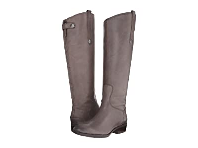 Sam Edelman Penny Leather Riding Boot (Grey Frost) Women