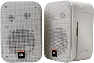 JBL Professional Control 1 Pro High Performance 2-Way Professional Compact Loudspeaker System, White (sold as pair) - C1PRO-WH