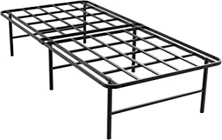 ZIYOO 16 Inch Platform Bed Frame Base, Mattress Foundation, Box Spring Replacement, Quiet Noise-Free, Twin XL