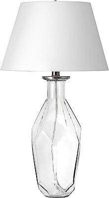 "nuLOOM Blytheville 26"" Glass Teardrop Table Lamp"