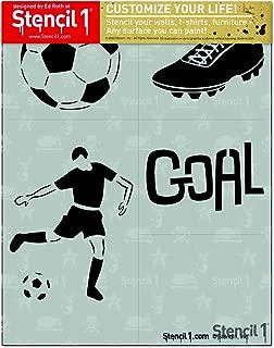 Soccer 4-Pack Stencil Set