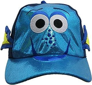 """Disney Finding """"Dory"""" 3D Baseball Cap – Boys Toddler [6014] Blue"""