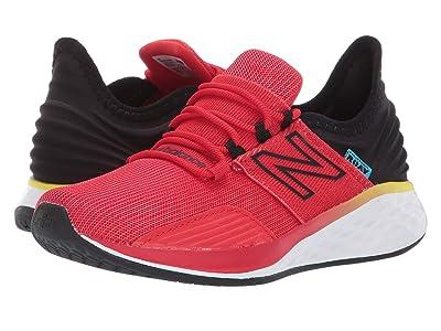 New Balance Kids Fresh Foam Roav Boundaries (Little Kid) (Velocity Red/Black) Boys Shoes