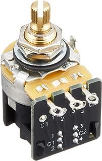 CTS 250K Push/Pull Split Shaft Audio DPDT Potentiometer
