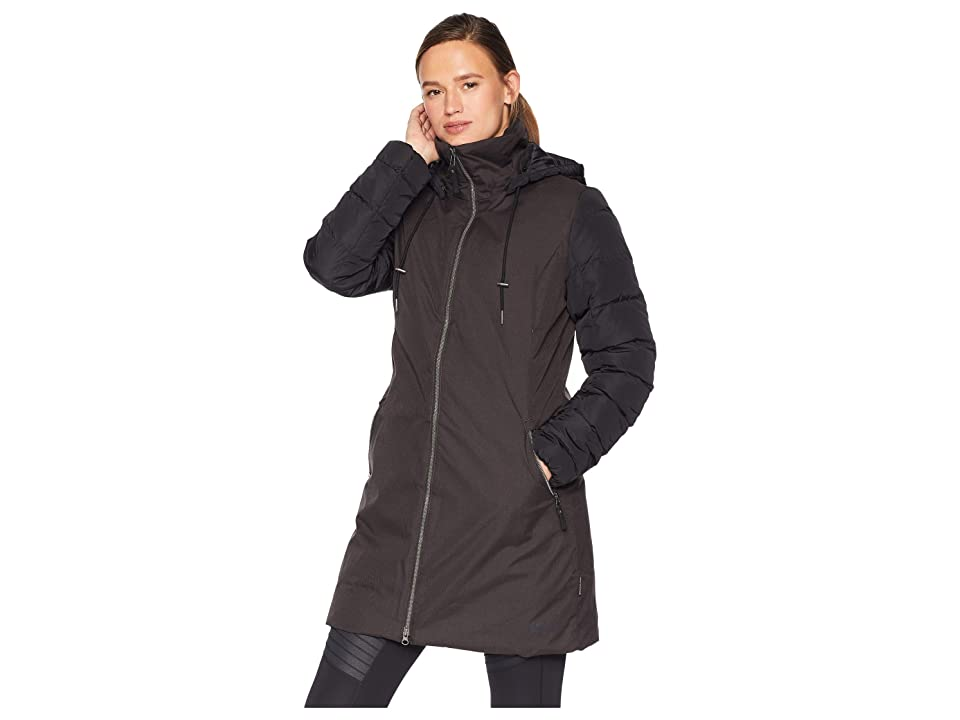 Jack Wolfskin Temple Hill Down Coat (Black) Women