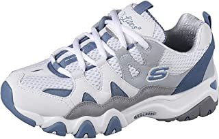 Skechers D'Lited 2 Lace Up Top Down Chunky Sole