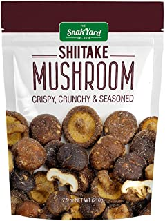 THE SNAK YARD EST. 2018 SHIITAKE MUSHROOMS (7.5 OZ BAG)