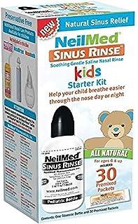 Neilmed's Sinus Rinse, Pediatric, Bottle Kit for Saline Nasal Rinse