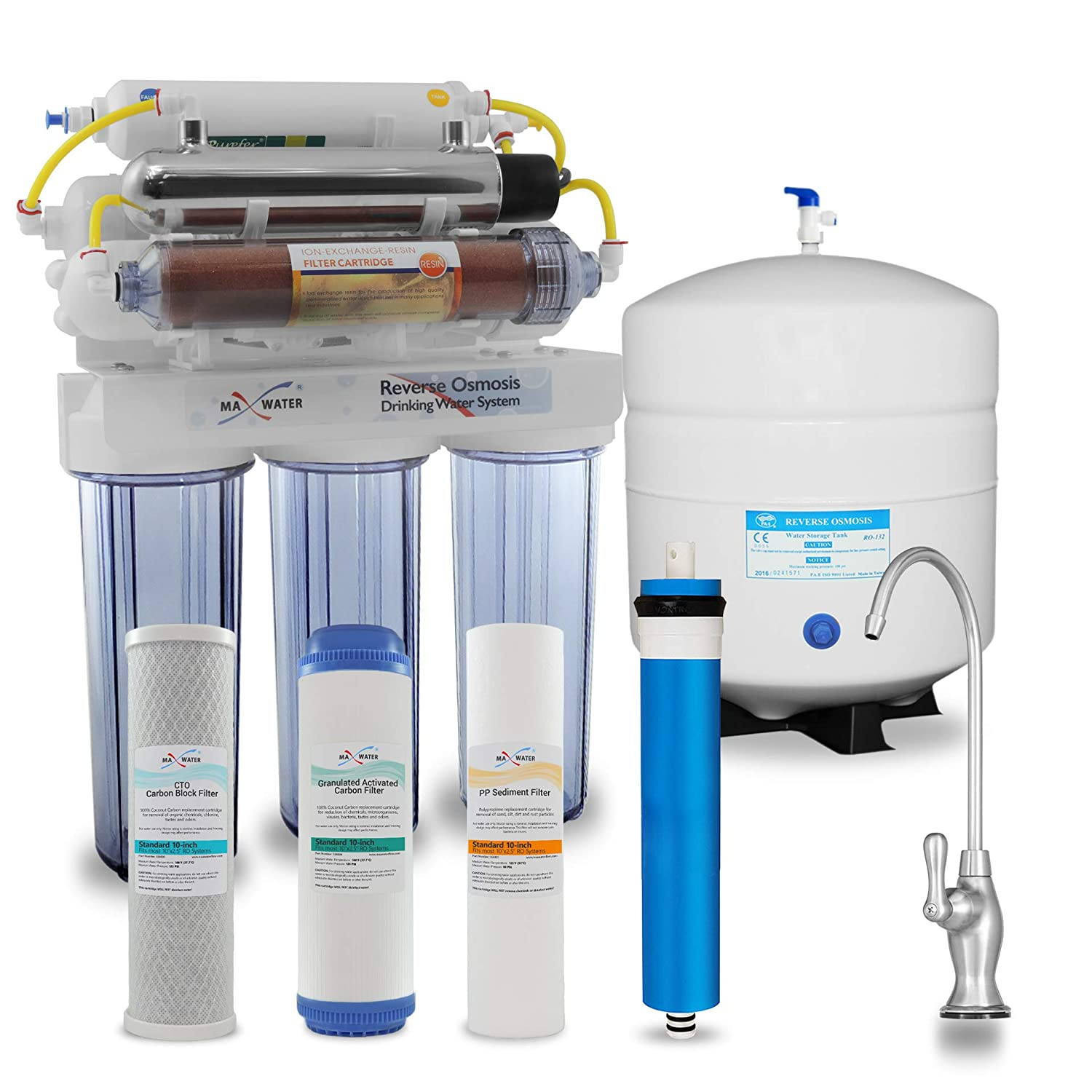 Max Water 55% OFF 12 Stage Home Reverse System W overseas Osmosis