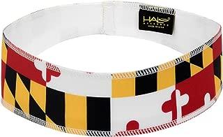 Halo Headbands Halo II Sweatband Pullover, Maryland Flag