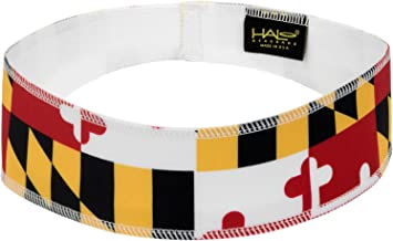 Halo Headbands Halo II Sweatband Pullover, Maryland Flag