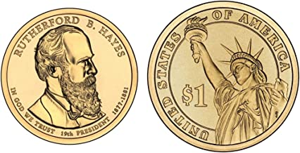 2011 P&D Rutherford B. Hayes Presidential Dollar Set