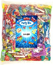 Assorted Candy Variety Mix 3.6 Lbs - Huge Party Mix Bulk Bag of: Smarties, Lemonheads, jawbreakers, Laffy Taffy and Much More!