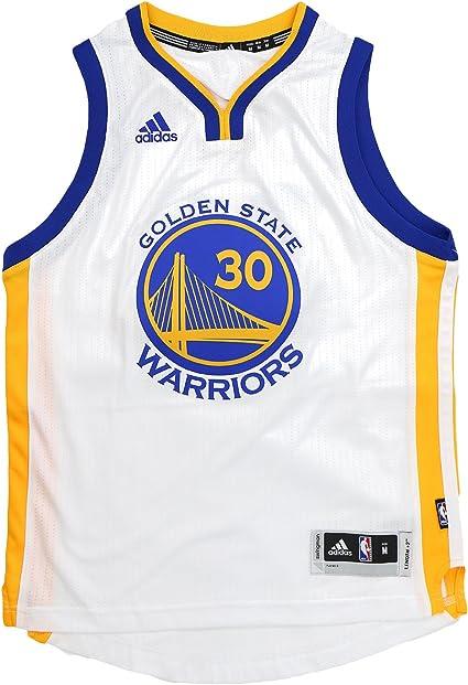 adidas Golden State Warriors Curry Swingman Home NBA Fan Basketball Jersey - Youth Kids