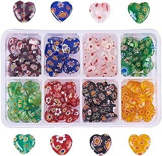 tiny heart beads
