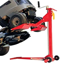 MoJack EZ Max – Residential Riding Lawn Mower Lift, 450lb Lifting Capacity, Fits..