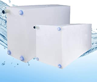 Fresh and Gray Water Holding Tank | Combo Pack | RV Water Holding Tanks | Camper Water Holding Tanks (21 Gallon & 30 Gallon) BPA Free