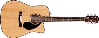 Fender CD-60SCE Dreadnought - Guitarra acústica