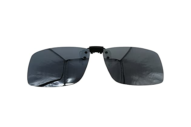 3826468f56 Polarized Clip-on Flip up Metal Clip Sunglasses Unbreakable Driving Fishing  Cycling