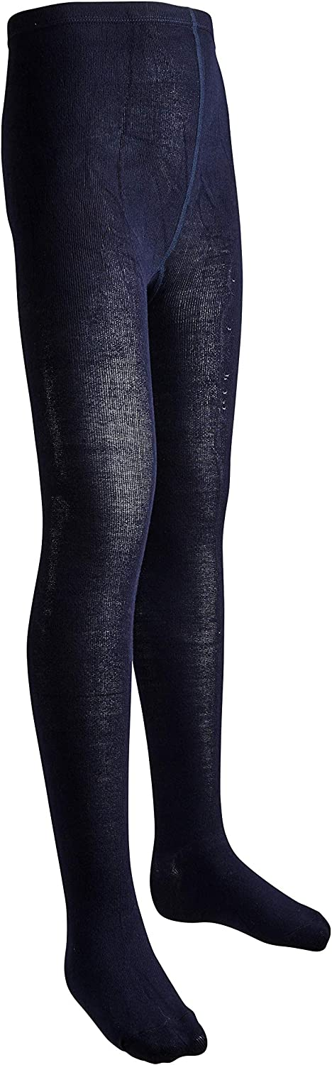 Sportoli Girls Soft Bamboo Hold and Stretch Footed Winter Tights