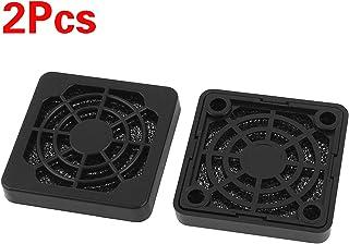 DULALA 2 Piezas Cubierta de Rejilla a Prueba de Polvo a Prueba de Polvo para Ventilador de Caja de PC de 40 mm
