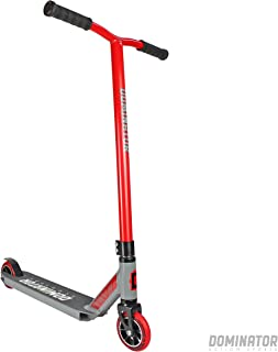 Dominator Ranger Pro Scooter - Stunt Scooter - Trick Scooter (Red/Grey)