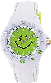 [スマイリー]SMILEY 腕時計 ステッチシリコン ホワイト×グリーン WC-HBSIL-WDGR 【正規輸入品】