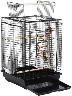 comprar comparacion Yaheetech Jaula de Pájaros Jaula para Mascota Jaula Hierro