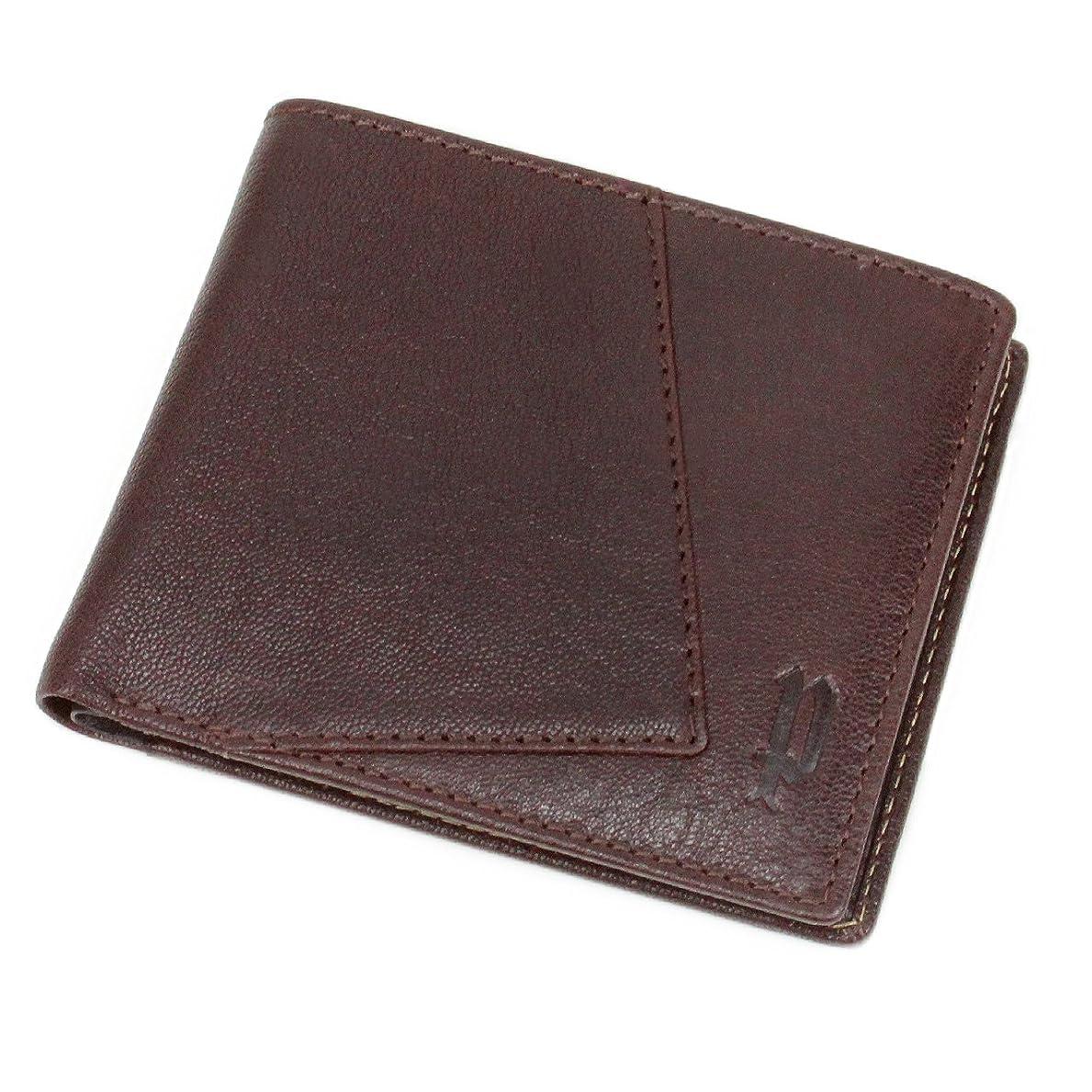 にはまってアミューズ気味の悪い[POLICE(ポリス)] 二つ折り財布 小銭入れあり ティピコ PA-59701