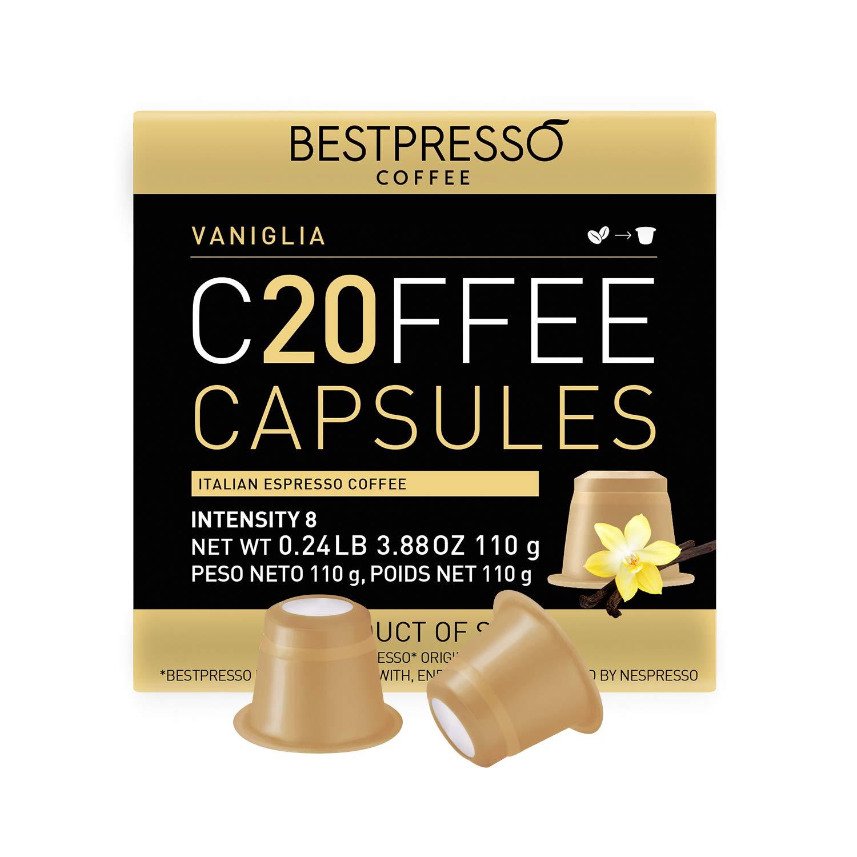 Max 54% OFF Bestpresso Coffee for Nespresso Original pods 120 Machine Very popular Certif