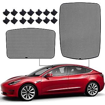 Kecheer Parabrezza Parasole Scudo termico Parasole per Tesla Model 3