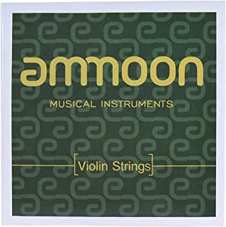 Full Set High Quality Violin Strings Size 1/2 & 1/4 Violin Strings Steel Strings G D A and E Strings
